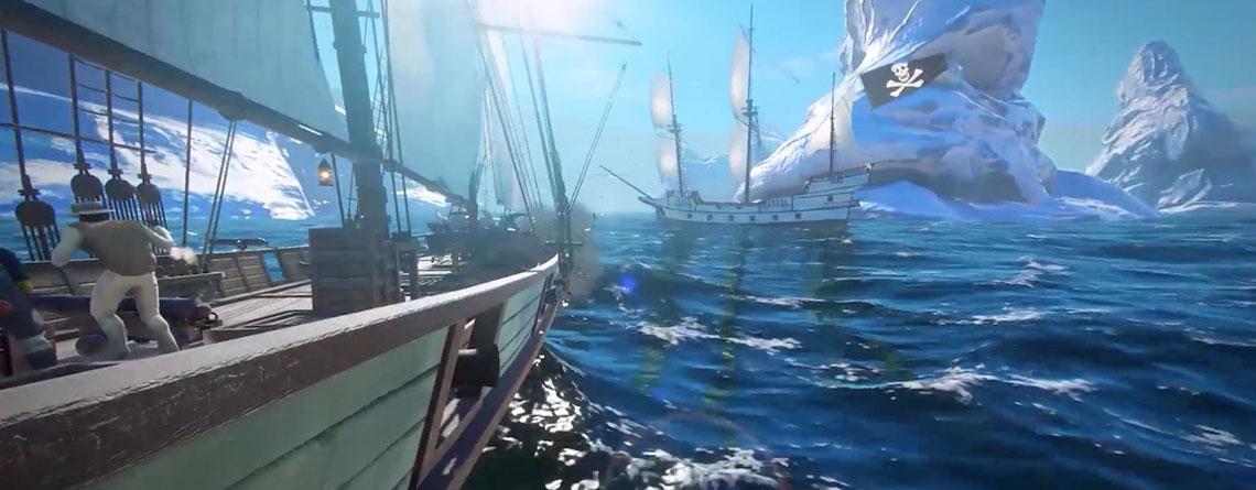 Neues Piraten-Spiel Blackwake hat Launch auf Steam – 85% Reviews im EA