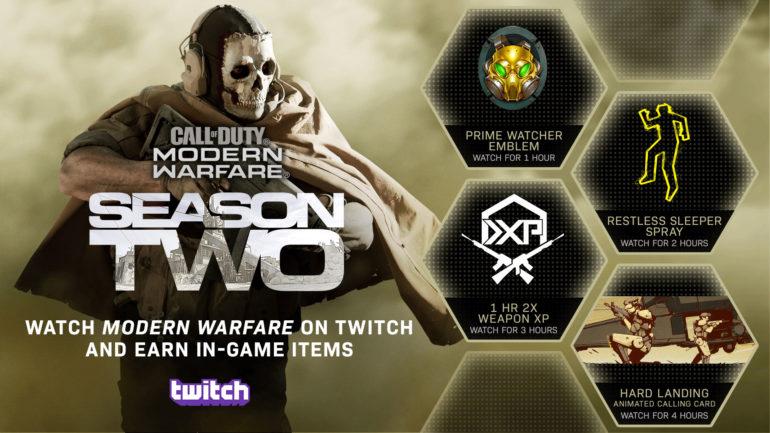 CoD MW Twitch Drops