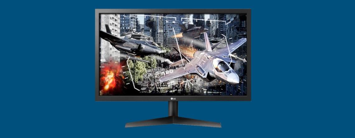 Günstiger Gaming-Monitor von LG zum Schnäppchenpreis bei Cyberport