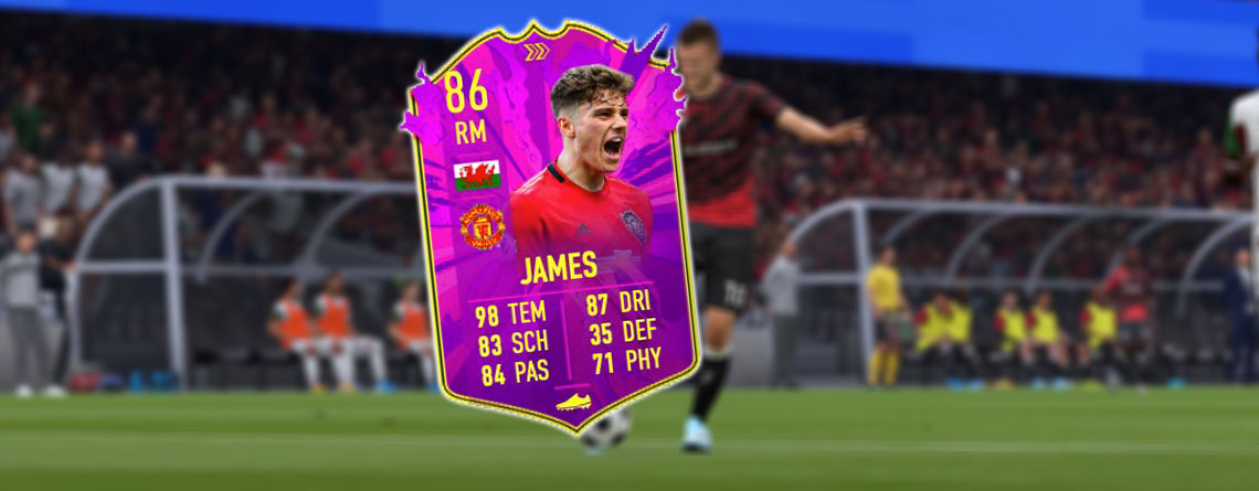 FIFA 20: So klappt der flache Vollspannschuss für Daniel James