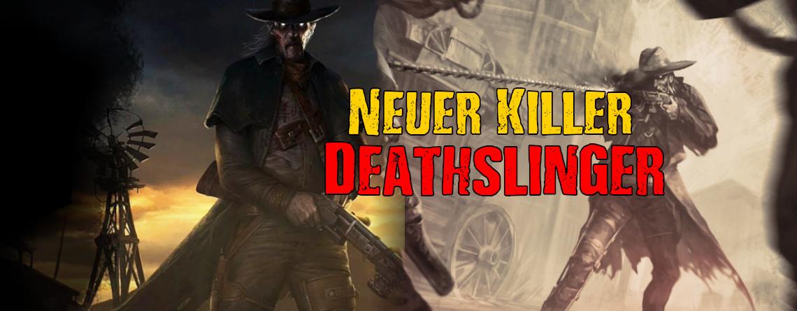 """Dead by Daylight: Ab jetzt ballert der neue Killer """"Deathslinger"""" auf euch"""