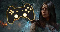 Diablo 4 Titel Frau Controller