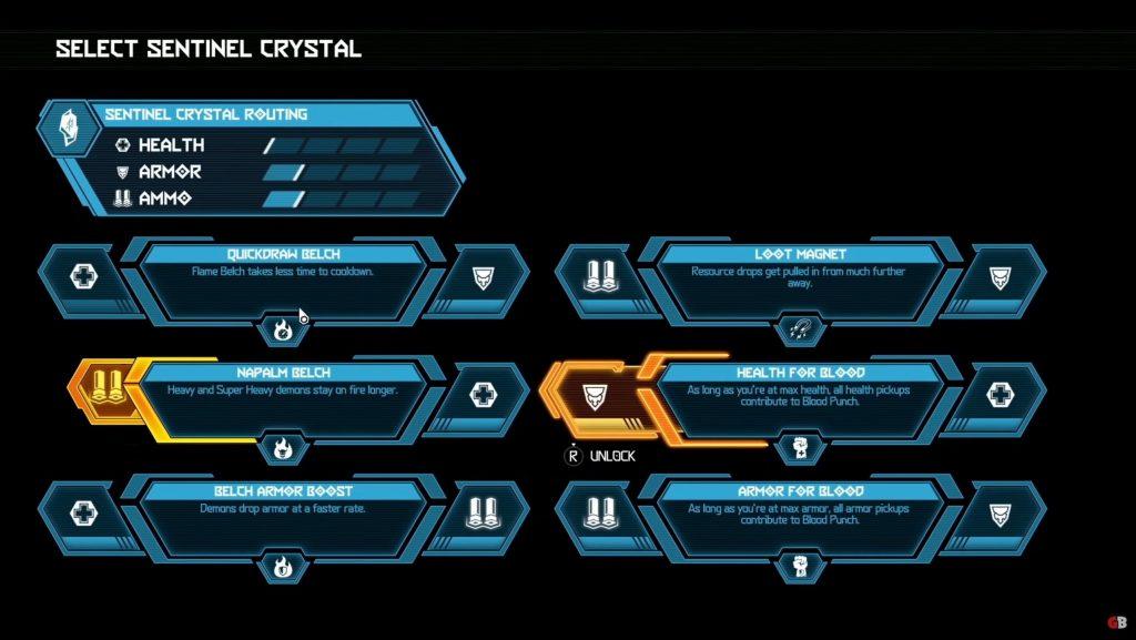 Doom Eternal Sentinel Crystals