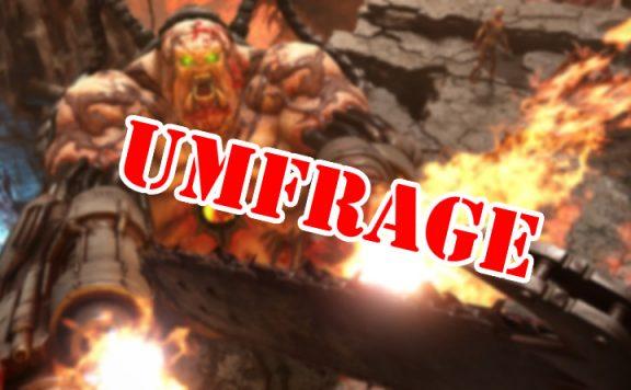 Doom Eternal Umfrage Titel