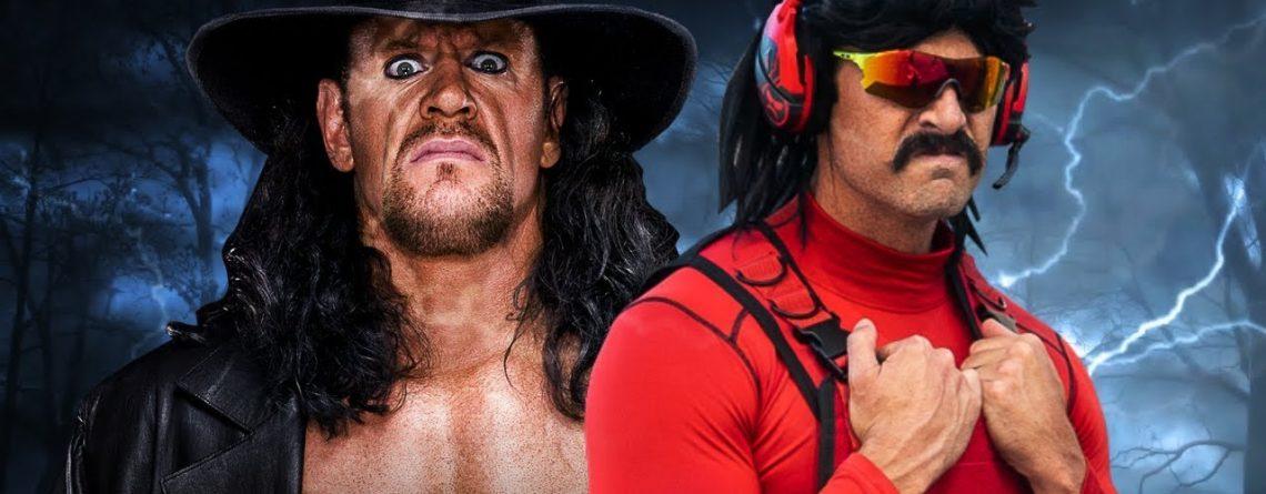 WWE-Star Undertaker trifft Twitch-Streamer DrDisrespect, geht ihm an die Kehle