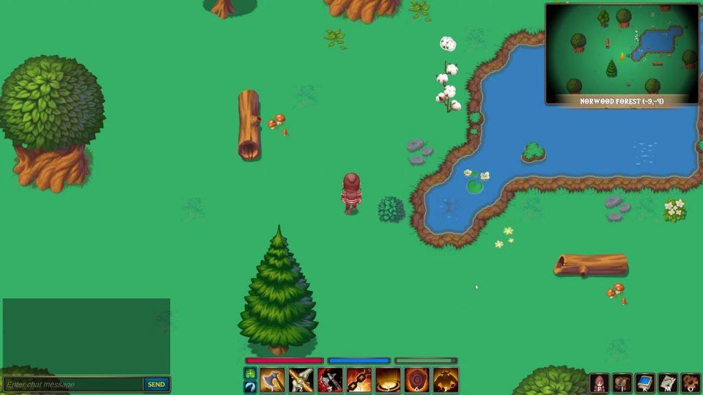 Screenshot vom MMORPG Dragon Eye Online