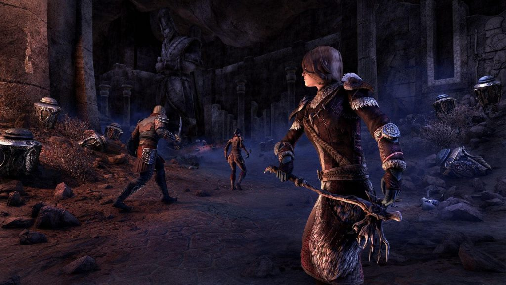 ESO Harrowstorm Dungeon Unheiliges Grab