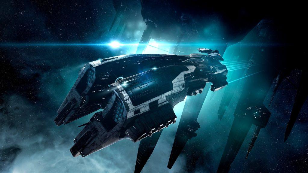 Eve Online Megathron Schlachtschiff