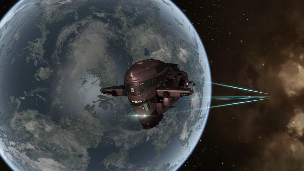 Eve Online Navitas Fregatte
