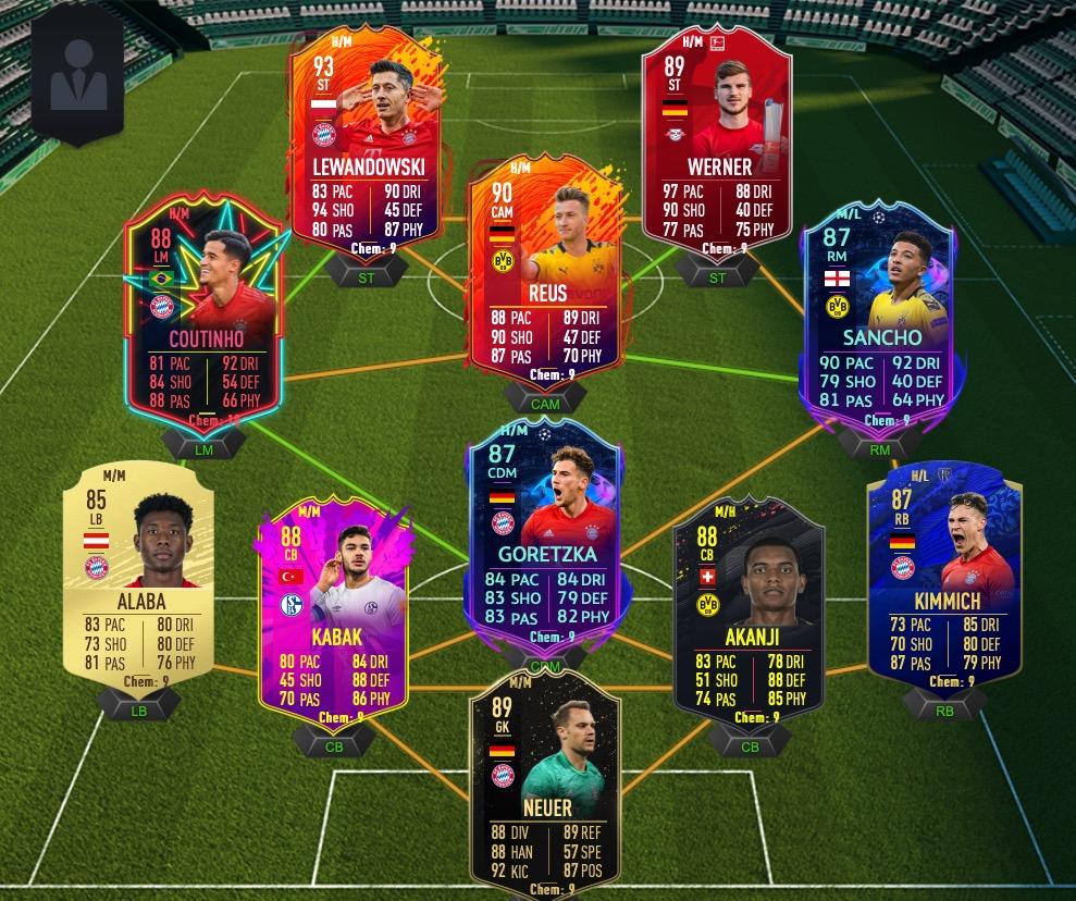 FIFA 20 Bundesliga