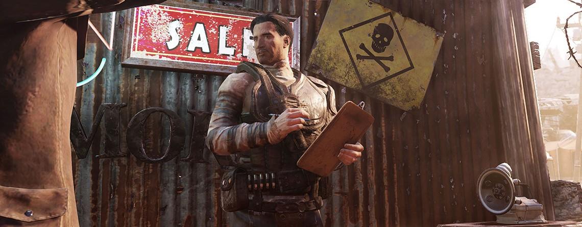 Fallout 76: Wastelanders lässt euch Ruf grinden wie in einem MMORPG