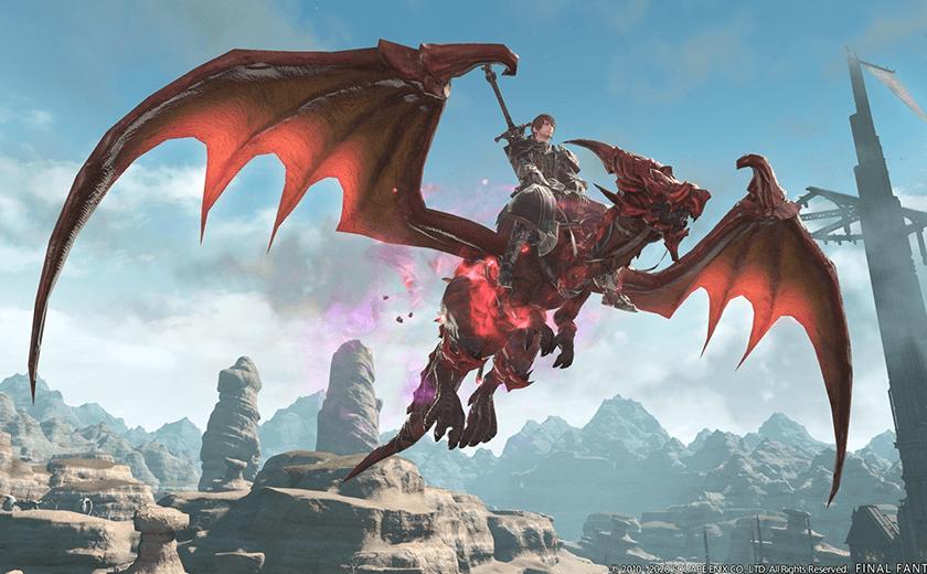 Final-Fantasy-XIV rubin gwiber