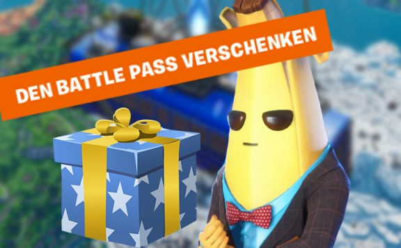 Fortnite Battle Pass verschenken Titel