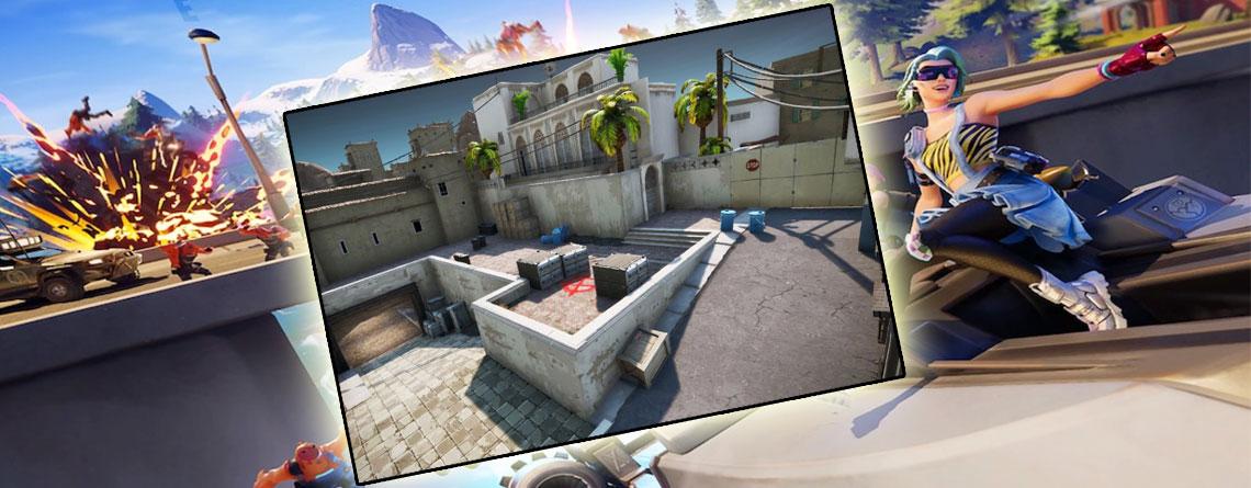 Eine der besten CS:GO Maps könnte bald in Fortnite landen