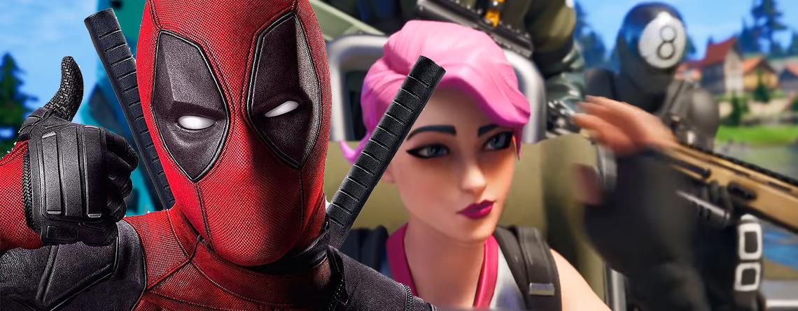 Wer genau hinsieht, entdeckt Deadpool im Trailer zu Fortnite Season 2