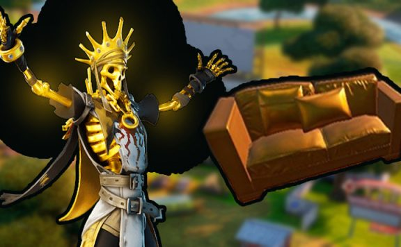 Fortnite gold koenig titel