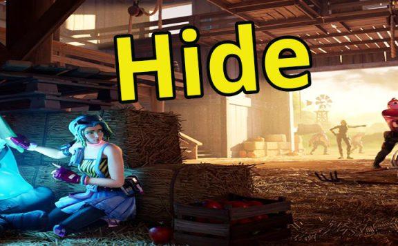 Fortnite hide and seek titel