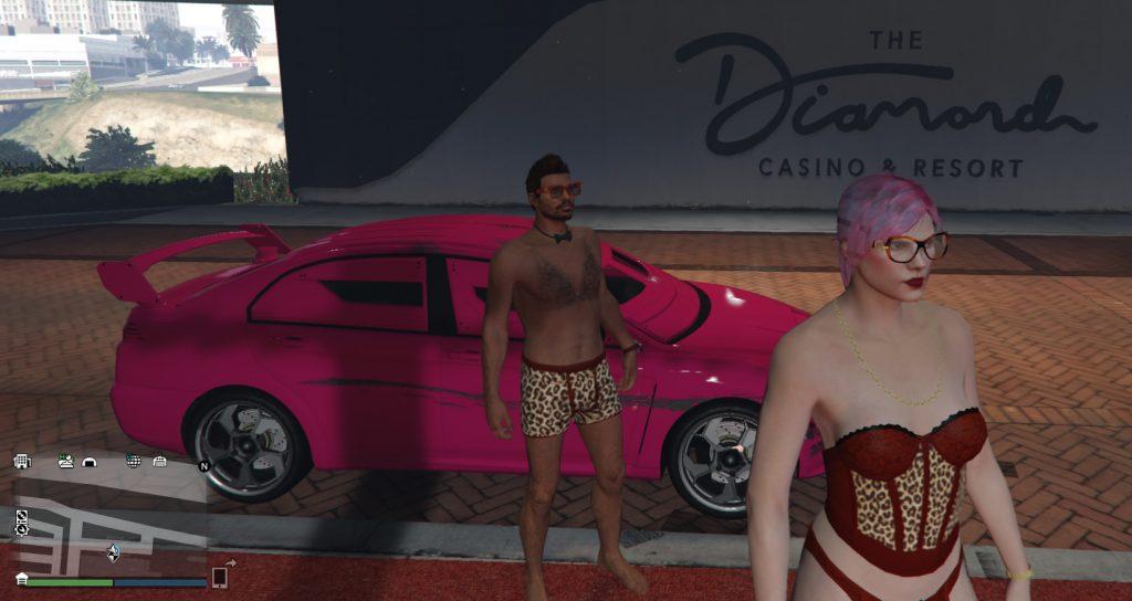 GTA Online Kuruma Pink