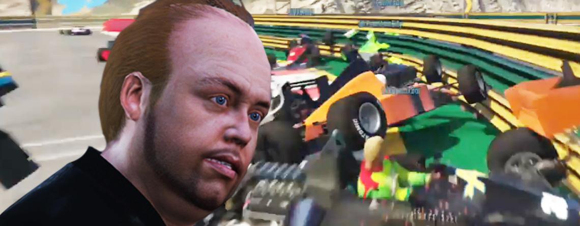 Die neuen Rennen in GTA Online sorgen für großartige Crashes