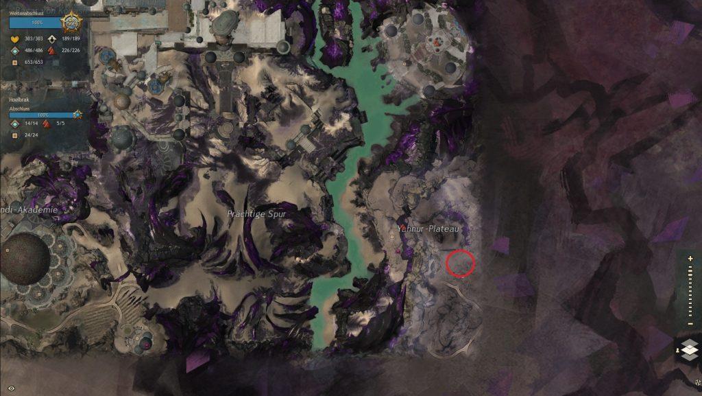 GW2 Karte Greif