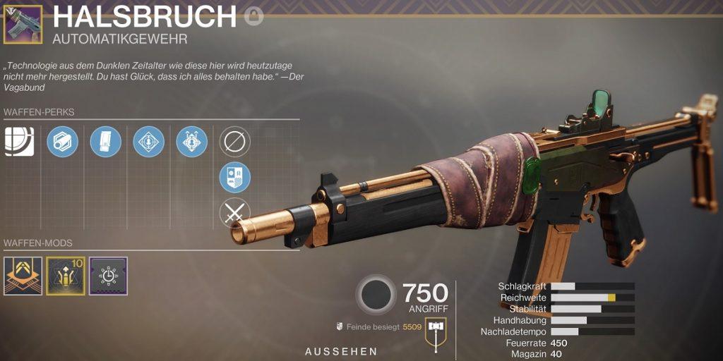 Halsbruch Destiny 2
