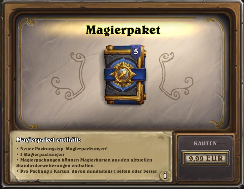Hearthstone Magierpaket