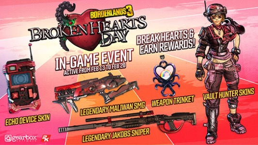 Broken Hearts day Borderlands