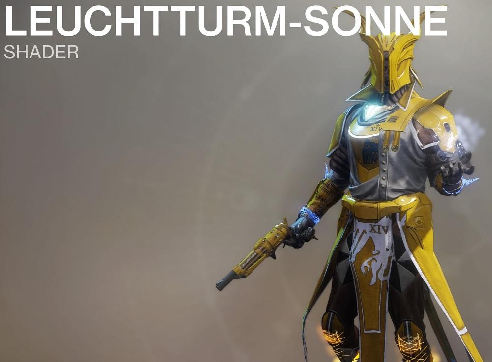 Leuchtturm-Sonne Shader Destiny