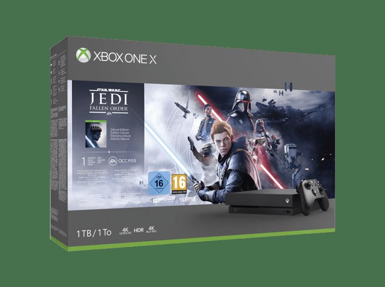 Xbox One X mit Star Wars Jedi: Fallen Order