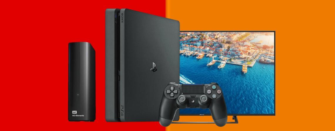 PS4 für 199 Euro, UHD-TV und mehr heute günstiger bei Media-Saturn