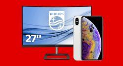 Apple iPhone XS, Curved-Monitor und mehr bei MediaMarkt reduziert