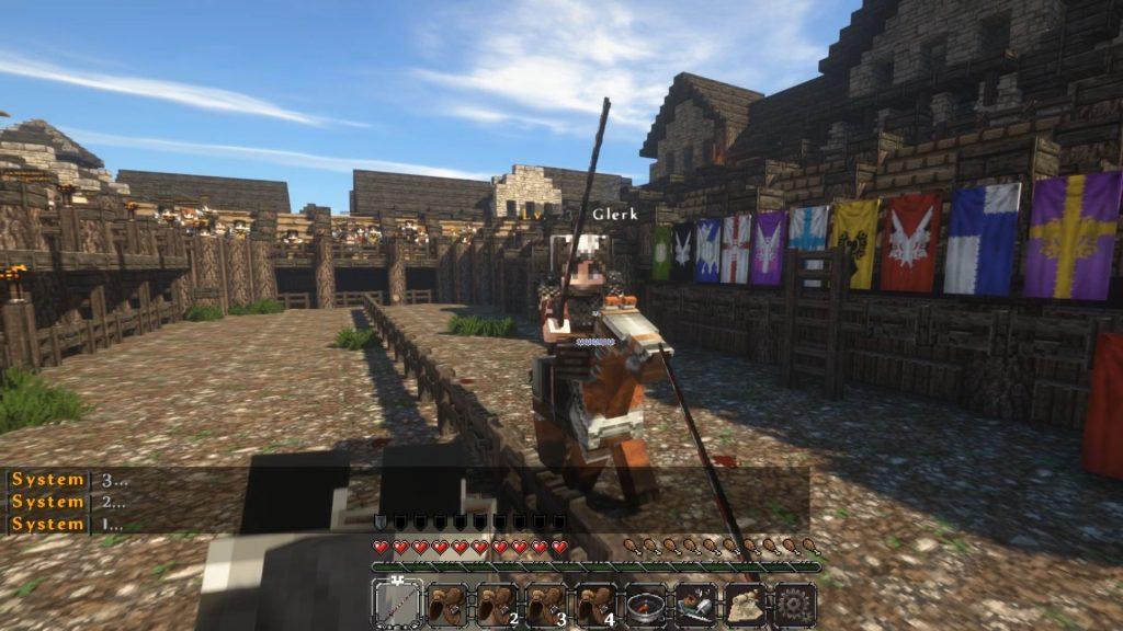 Minecraft Ritterspiele Hegemony