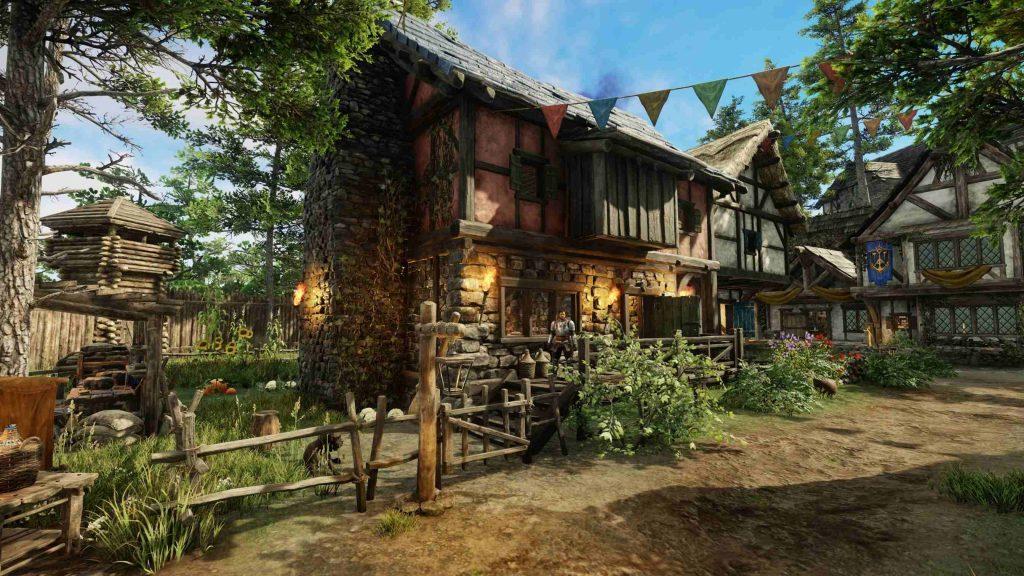 New World Haus von außen 2