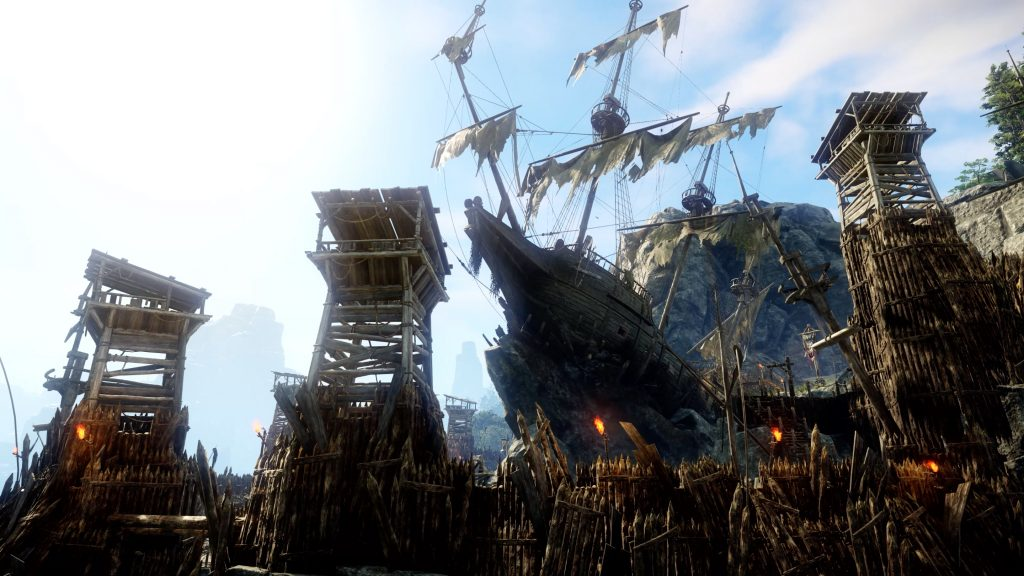 New World Screenshot Lost Base