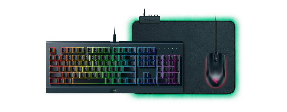 Gaming-Bundle von Razer mit Tastatur, Maus und Pad bei OTTO reduziert