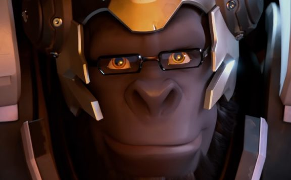 Overwatch Winston Smile title 1140x445