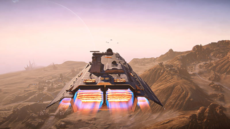 Bastion Fleet Planetside 2