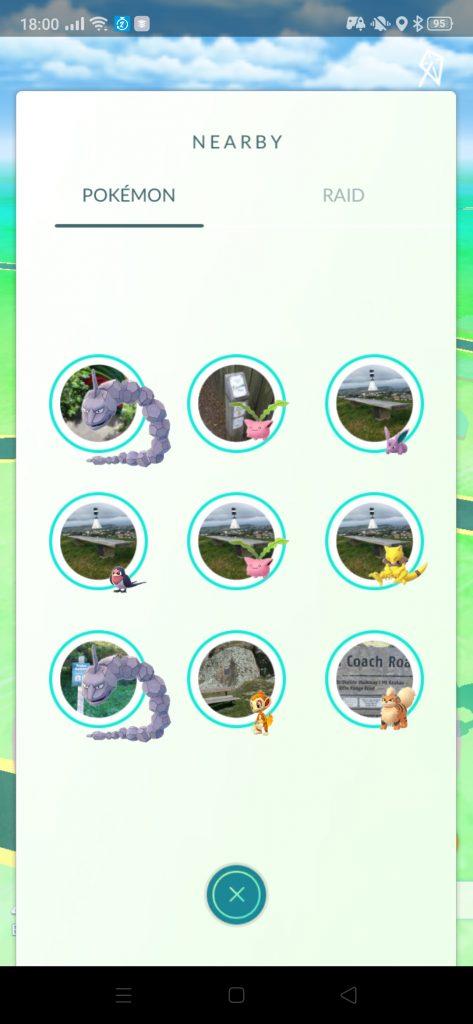 Pokémon GO Rampenlicht Onix
