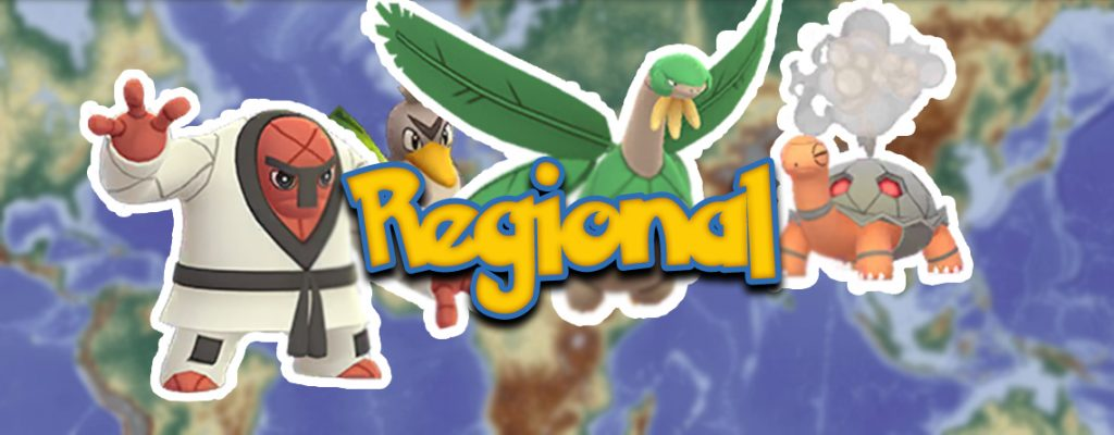 Pokémon GO Regional Titel Gen 1 Gen 4 Gen 5