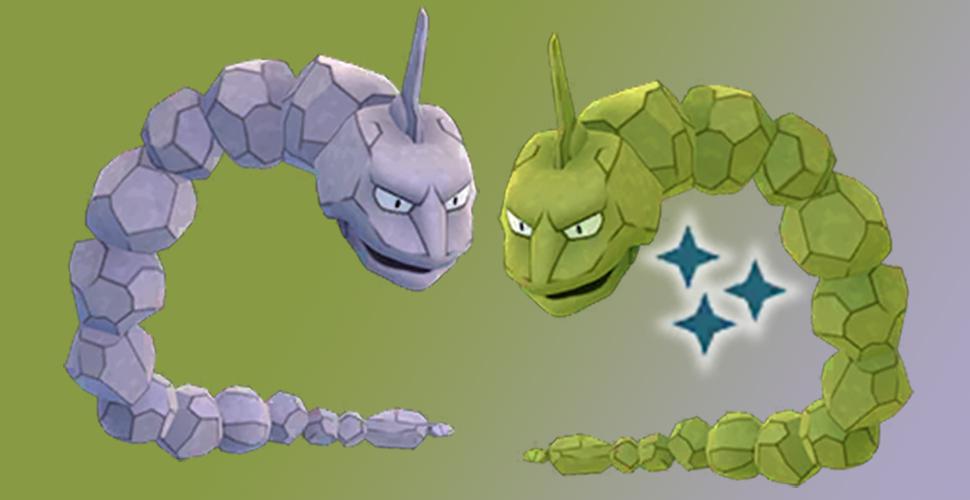 Pokémon GO Shiny Onix