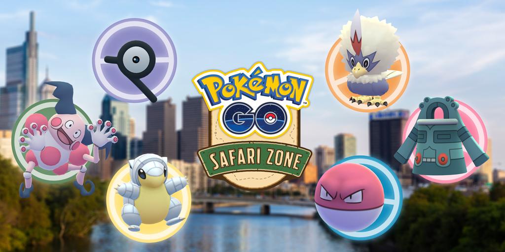 Pokémon Go safari philadelphia