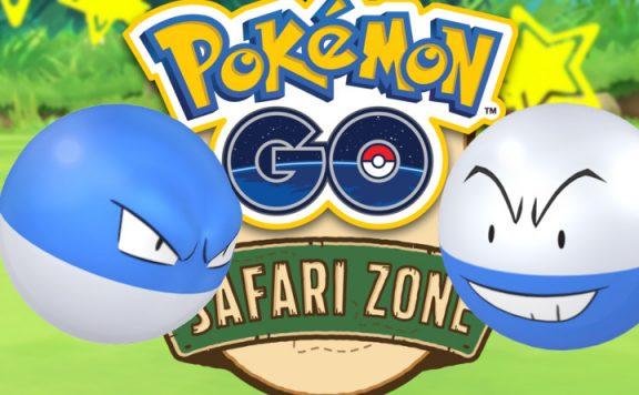 Pokemon go safari zone voltobal titel