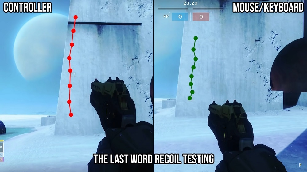 Rückstoß (Recoil) Destiny 2