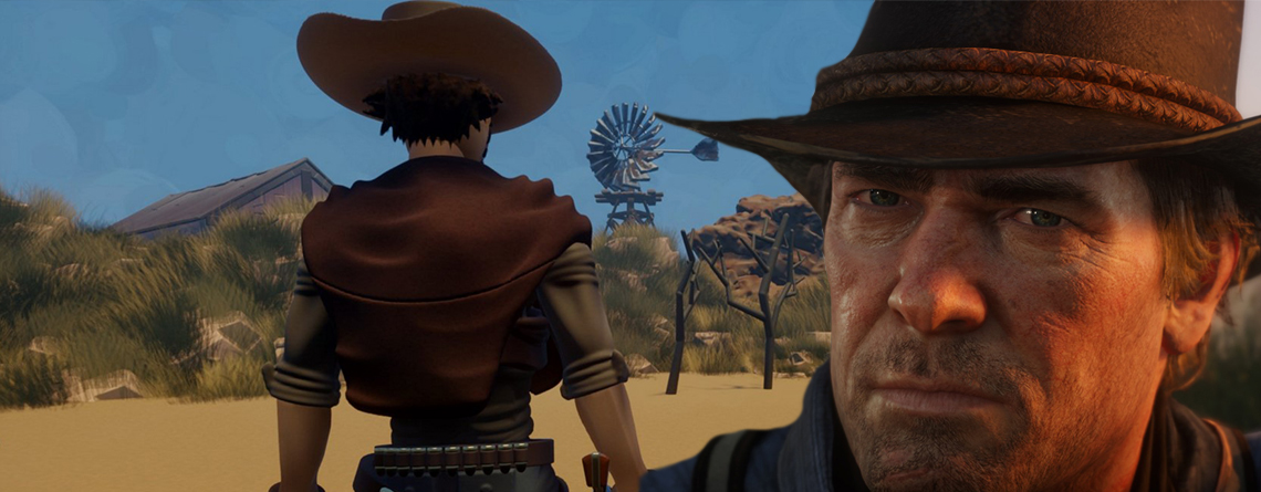 So fies wird Red Dead Online in diesem Dreams-Spiel verspottet
