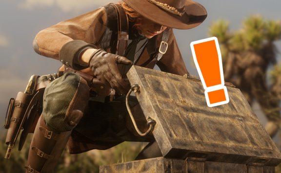 Red Dead Redemption 2 Kiste Titel