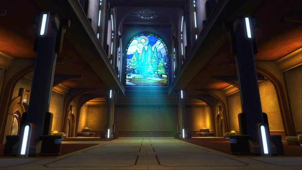 SWTOR Alderaan Palace Housing
