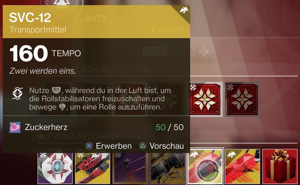 Item Scharlach-Woche Destiny 2