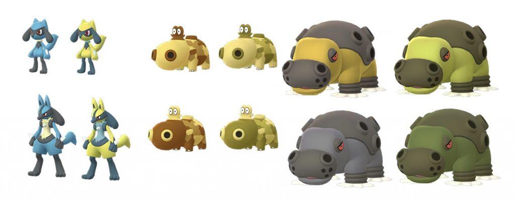 Riolu Hippopotas Shiny