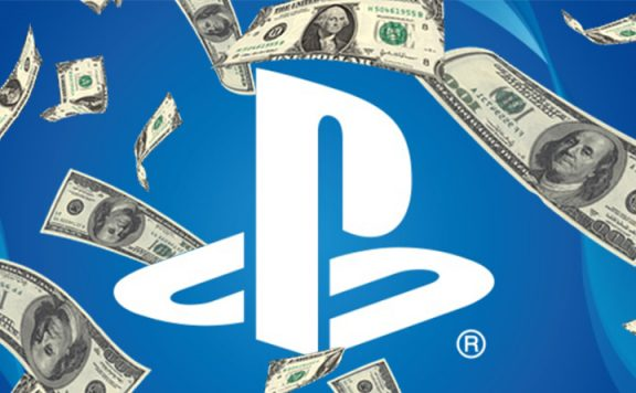 Sony Logo Geld Titel PS5 PS4 PlayStation