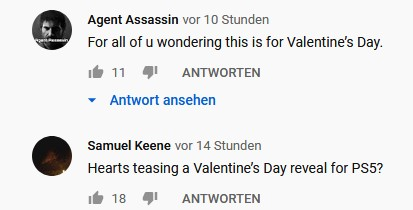 Sony PS5 Valentinstag